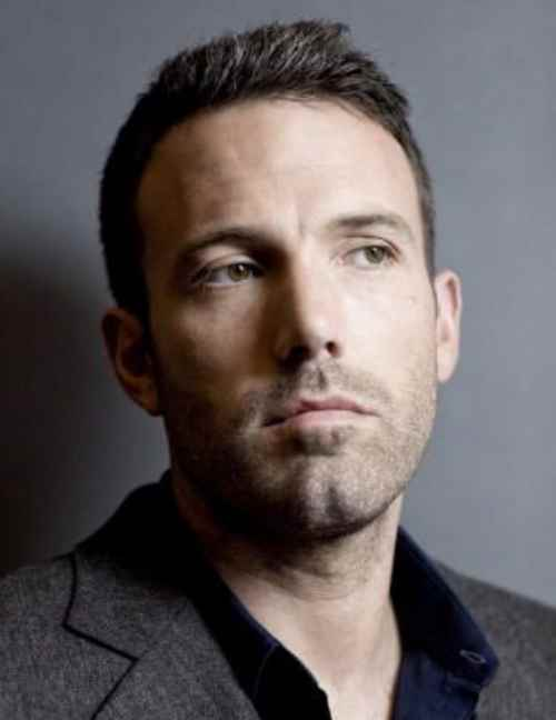 ben affleck haircut short