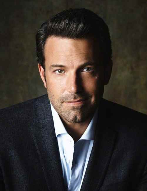ben affleck slick comb over hairstyle