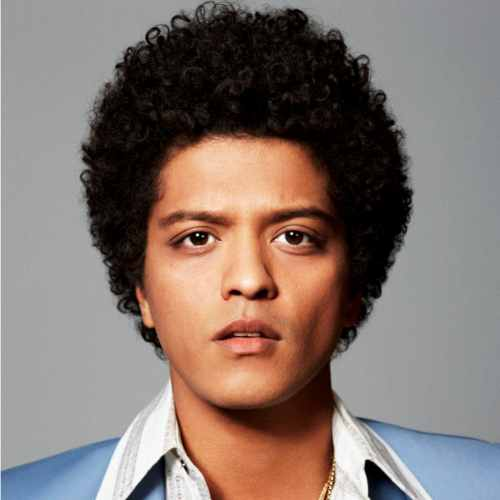 bruno mars haircut old hairstyle