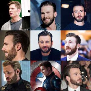 chris evans haircut