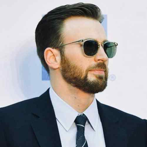 chris evans haircut medium length hairstyles