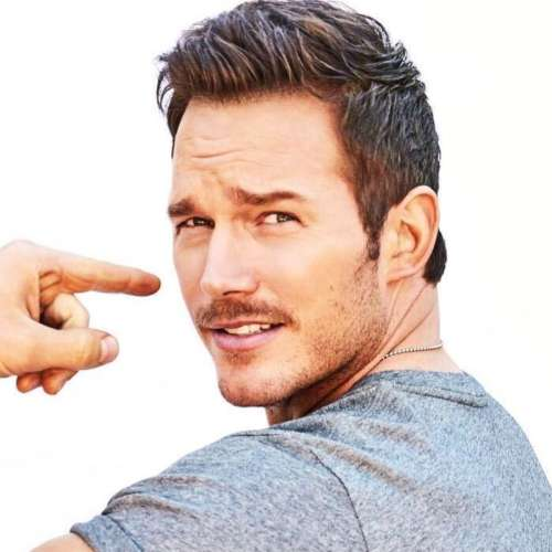 chris pratt hair braid