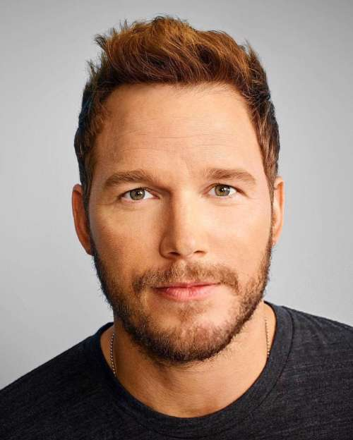 chris pratt hair color