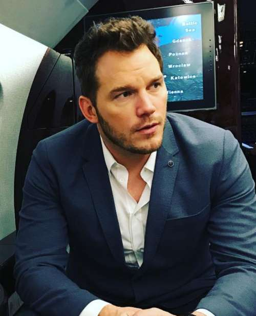 chris pratt hairstyle textured hair