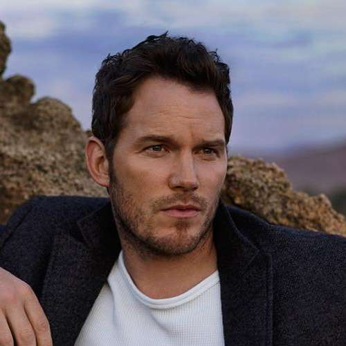 chris pratt messy hairstyle