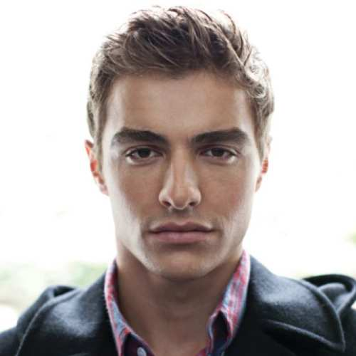 dave franco messy sharp layers