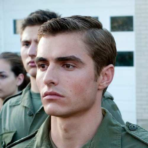 dave franco side part haircut