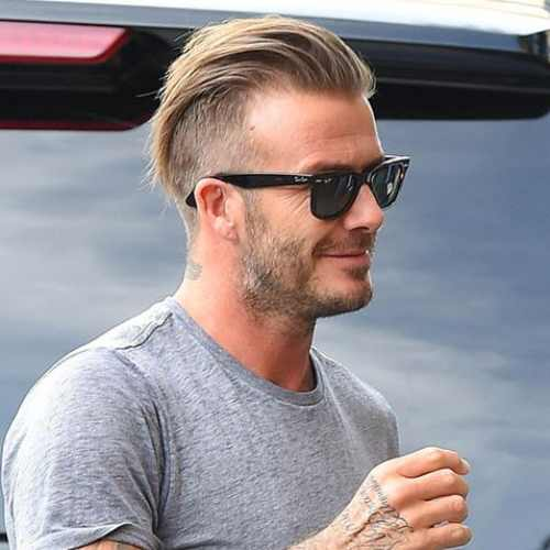 Top 30 David Beckham Hairstyles Soccer Player Haircuts Men S