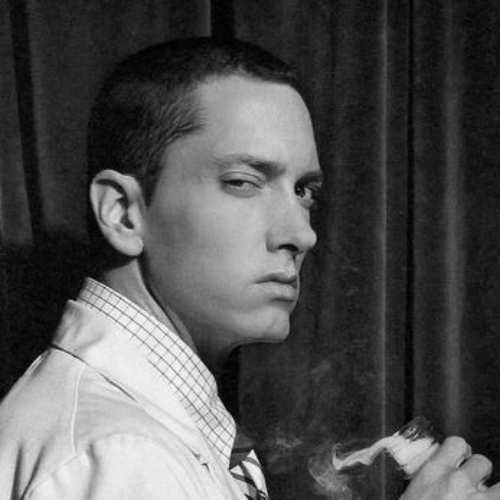 eminem short length hairstyles