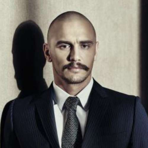 james franco bald style