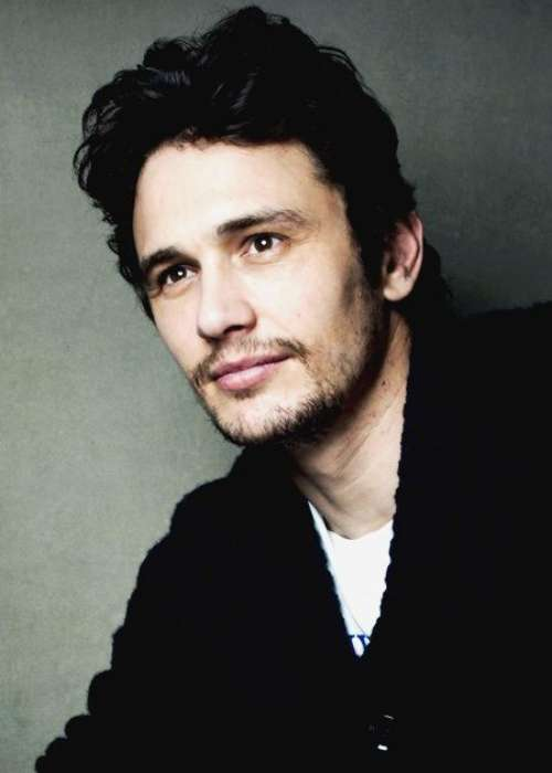 james franco black hair