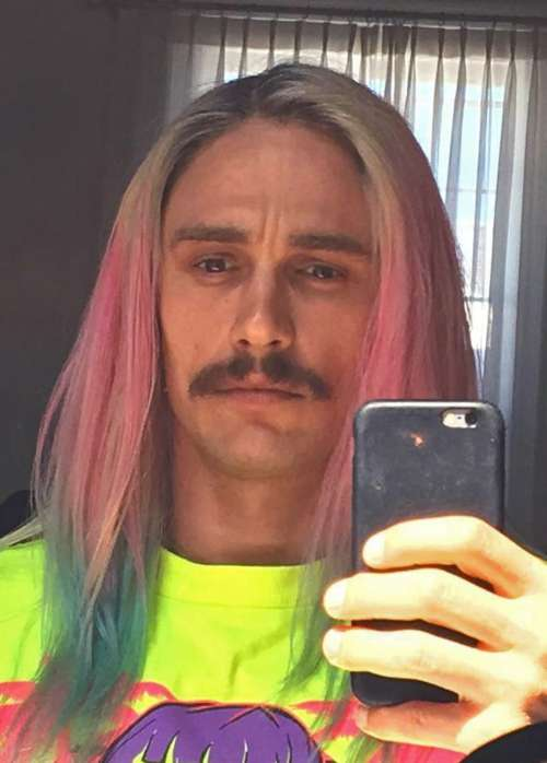 james franco funny haircut