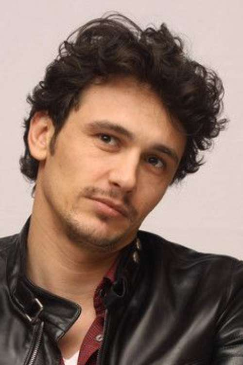 james franco messy medium length hair