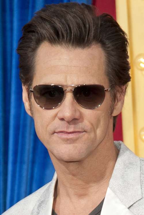 jim carrey latest hairstyles
