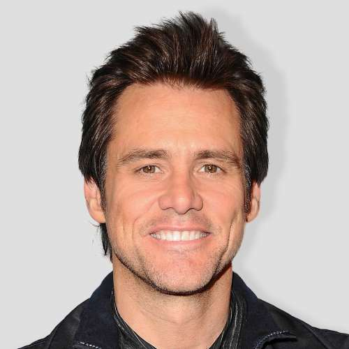 jim carrey spiky haircut