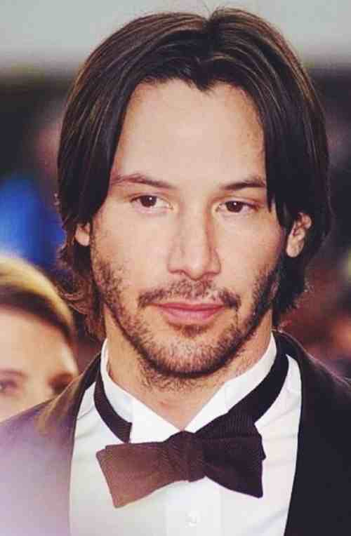 keanu reeves hairstyles long hair