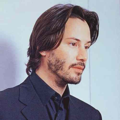 keanu reeves hairstyles new style matrix