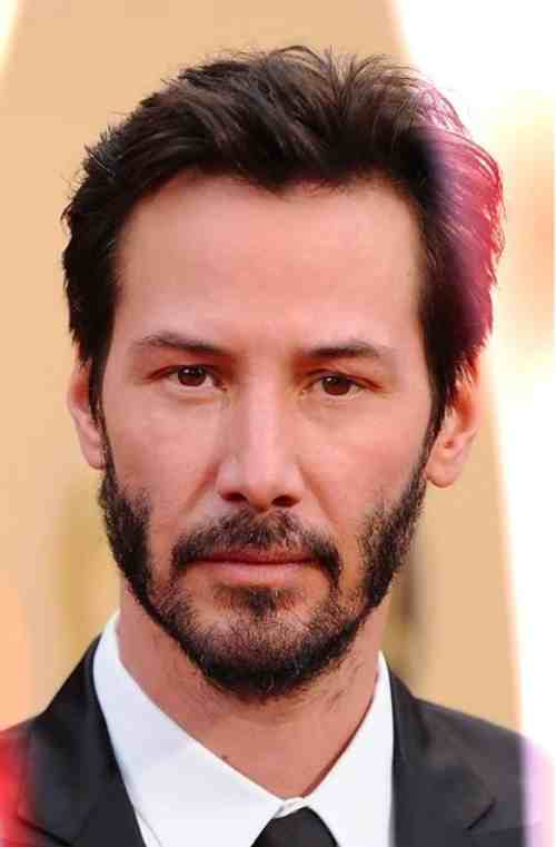 keanu reeves hairstyles short hair