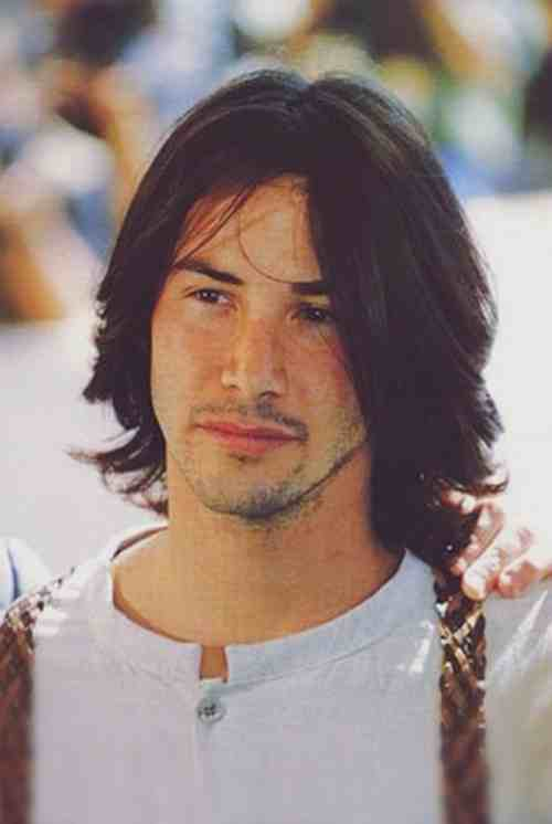 keanu reeves long hairstyles for men