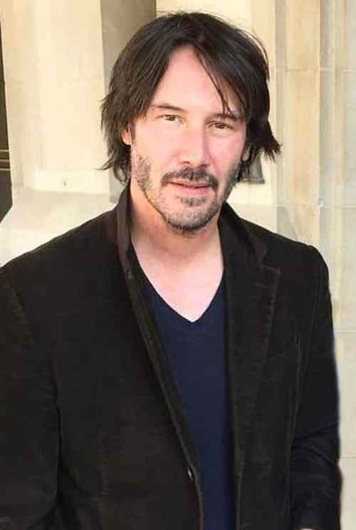 keanu reeves new hairstyle