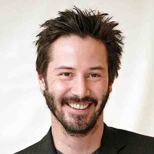 keanu reeves short haircut