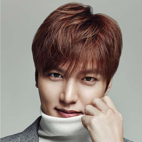 lee min ho color hairstyle