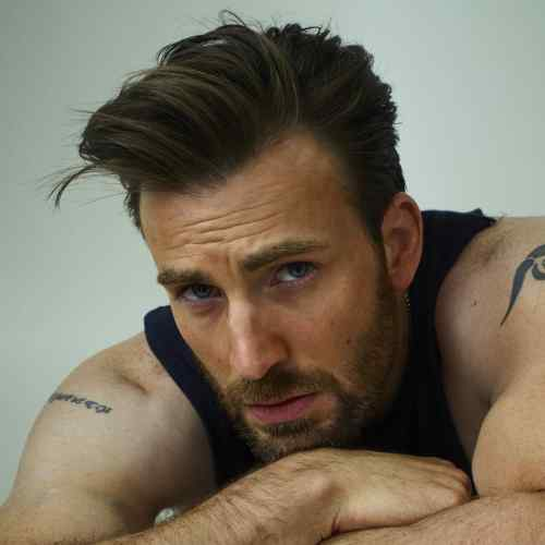 new chris evans haircut