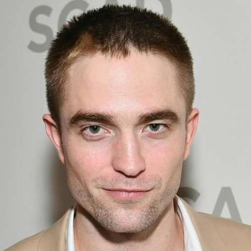 robert pattinson short hairstyle