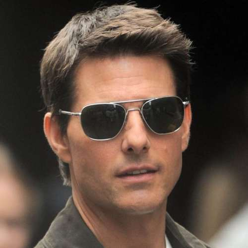 tom cruise shaved face short hairstyle