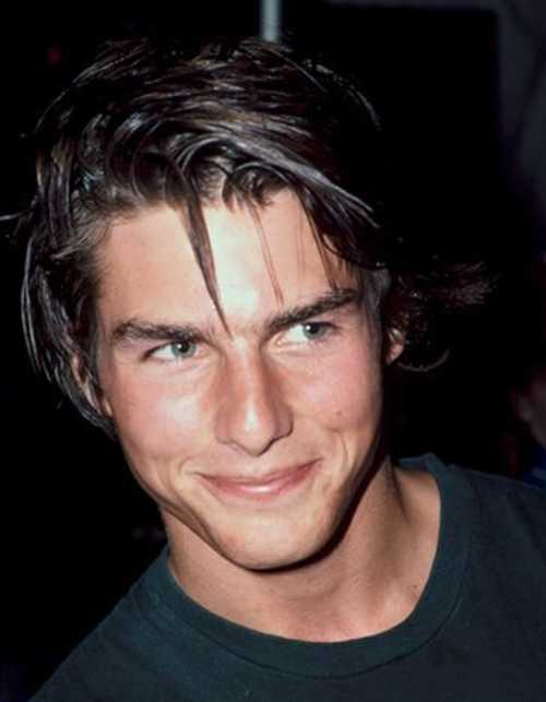 tom cruise young age haircut