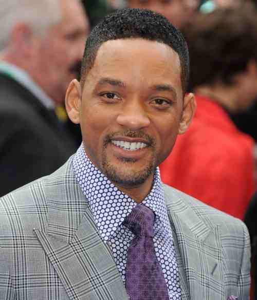 will smith men in black short hairstyle