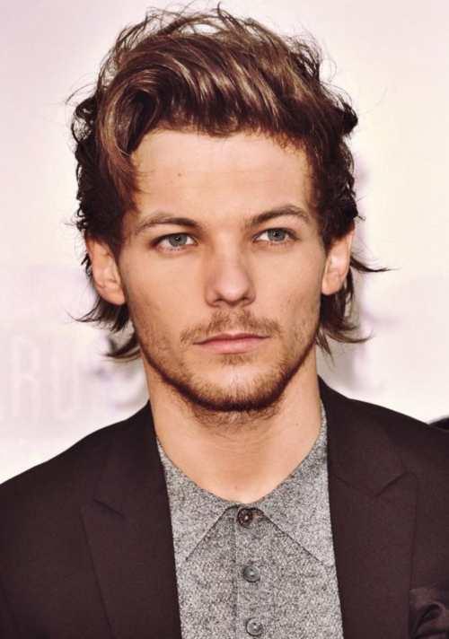 Louis Tomlinson Hairstyle