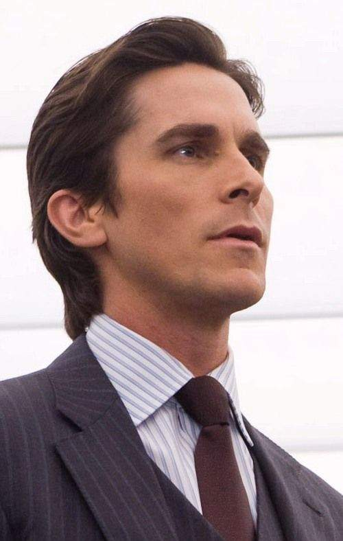 christian bale haircut dark knight
