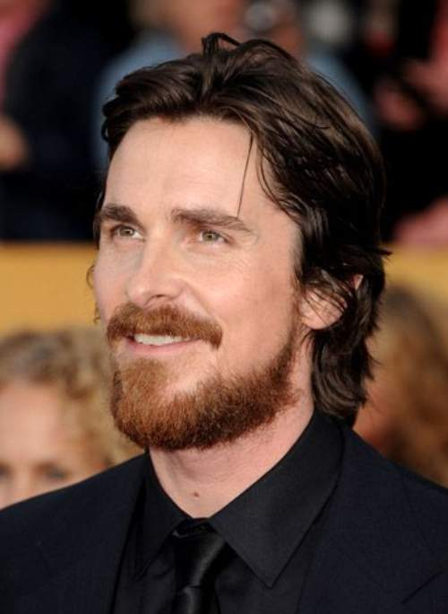 christian bale haircuts with beard