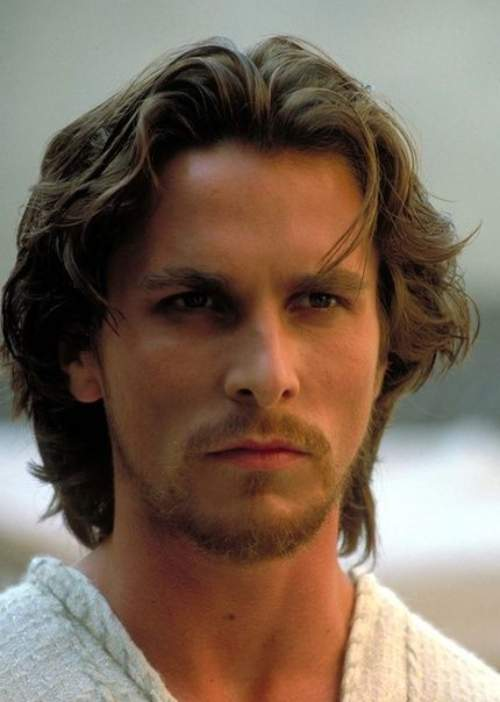 christian bale long hairstyle