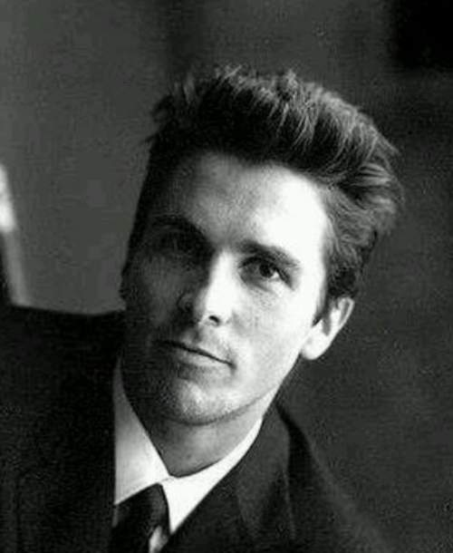 christian bale short haircut