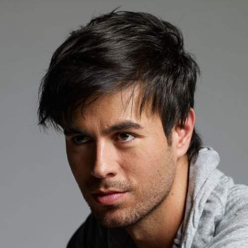 enrique iglesias haircut