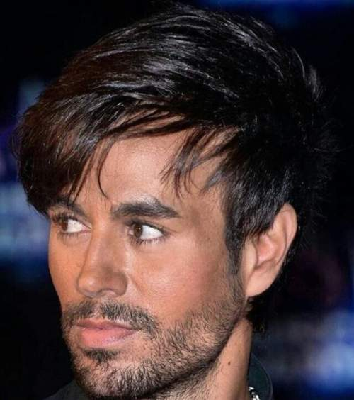 enrique iglesias long hairstyle