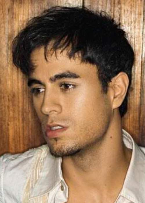enrique iglesias medium length hair