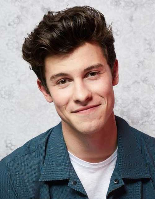 shawn mendes new haircut