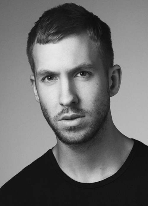 calvin harris short haircut