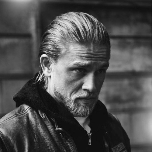 jax teller haircut Charlie Hunnam haircut