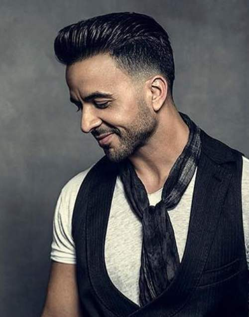 luis fonsi pompadour hairstyle