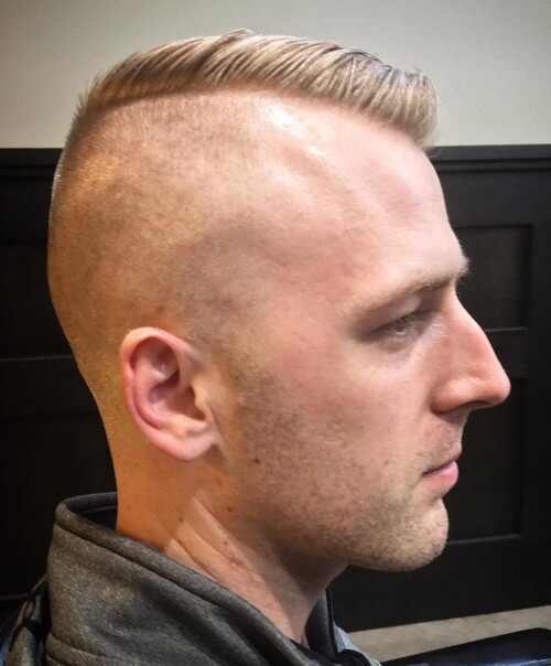 bald fade undercut high side part bald fade hairstyles with comb