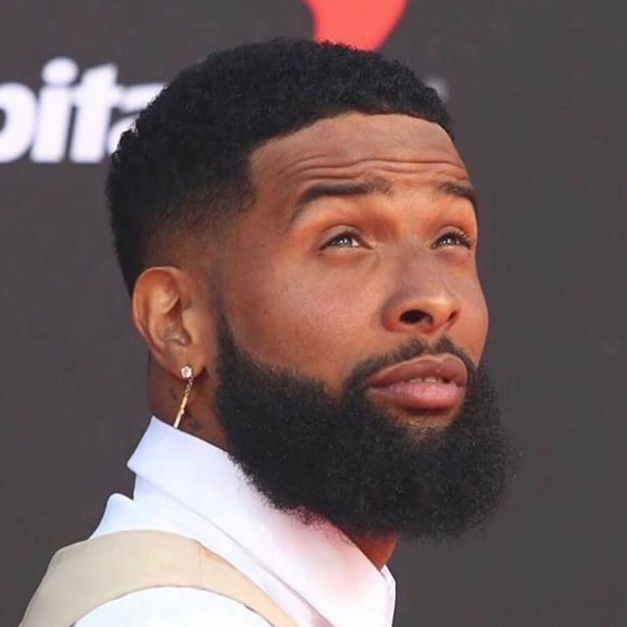 odell beckham jr haircut name short buzz curly hairstyle