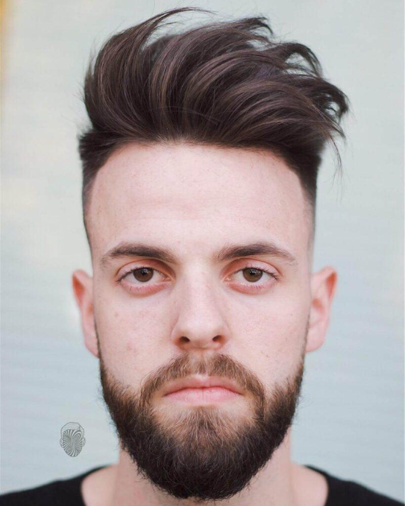 travisanthonyhair fuckboy haircut with beard