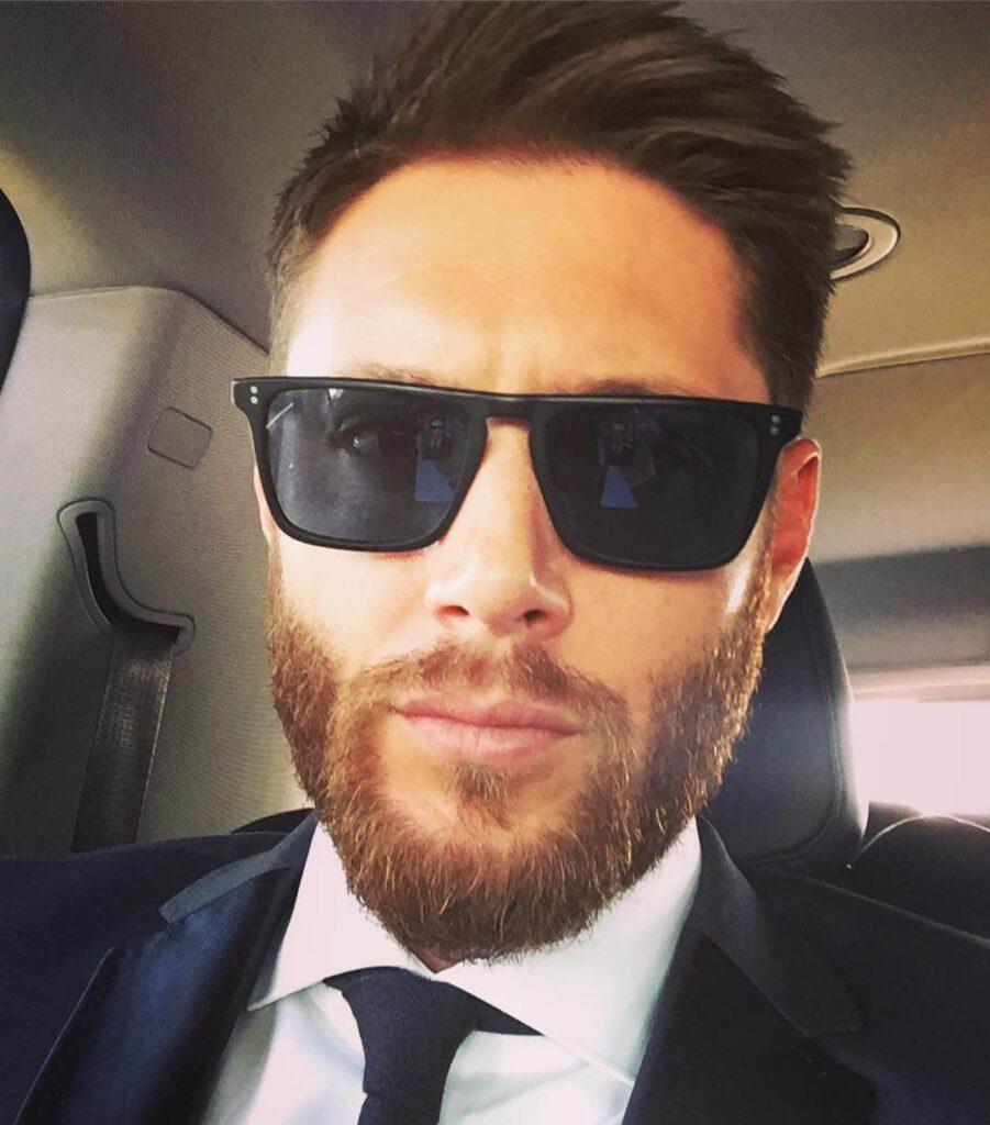 Jensen Ackles beard style