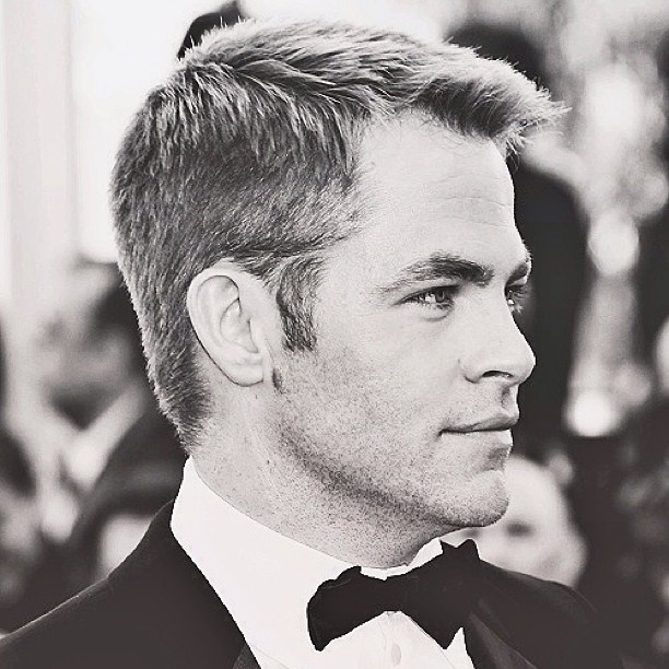 chris pine gentleman hairstyle