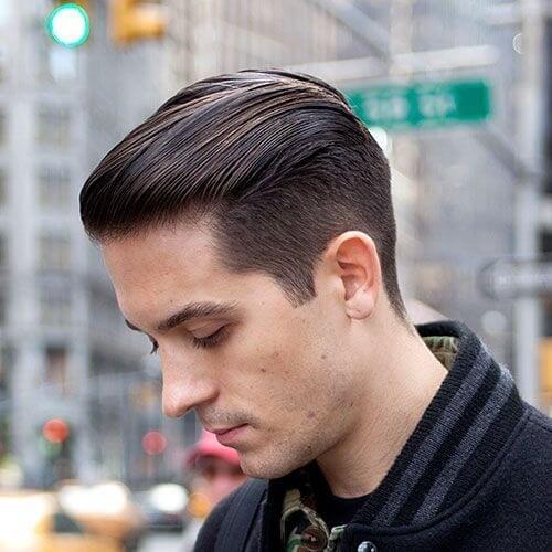 g eazy side part haircut