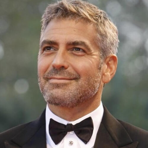 george clooney gentleman hairstyle